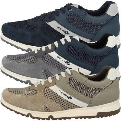 Geox U Wilmer B Chaussures Men Hommes Loisirs Sport Sneaker chaussures basses u923xb01422c   eBay