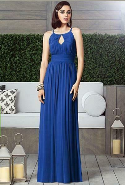 Mother of the Bride / Bridesmaid Dress....2906.....Sapphire Blue....Size 12