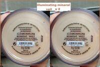 Bare Escentuals Bareminerals Illuminating Mineral Veil Face Powder Sealed 9g X 2