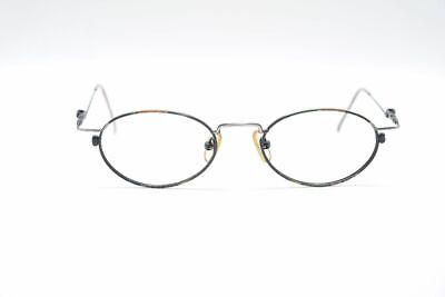 Vintage Argenta 27h 001 48 [] 19 135 Marrone Nero Ovale Occhiali Montatura-mostra Il Titolo Originale