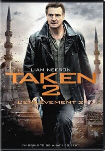Details about NEW Taken 2 DVD Liam Neeson Maggie Grace Famke Jansse FREE  SHIPPING