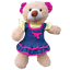16-inch-40cm-TEDDY-CLOTHES-PINK-DRESS-PRINCESS-DENIM-TUTU-BIRTHDAY-BUTTERFLY thumbnail 3
