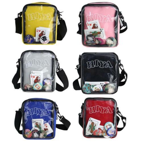 Gril Cute Kawaii Transparent Messenger Bag Shoulder bag Itabag Handbag 6 Color