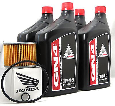 1984-1987 Honda Goldwing 1200 GL1200 LE Interstate SE OEM Oil Change Kit H49