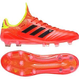Details Zu Adidas Copa 18 1 Fg Herren Fussballschuhe Rot Gelb Schwarz Db2169 Stollen Leder