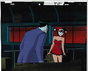 Batman Animated Series Original Production Cel Joker/Harley Quinn-Mad Love