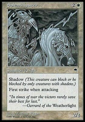4 Soltari Priest ~ White Tempest Mtg Magic Uncommon 4x x4