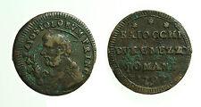 pcc1648_20) Pio VI (1774-1799)   Sampietrino Baiocchi Due e Mezzo 1797 - R