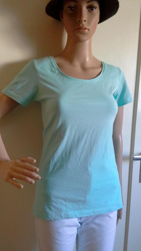 KöStlich T Shirt Türkis, Stretch Gr. M....laura T. Exzellente QualitäT