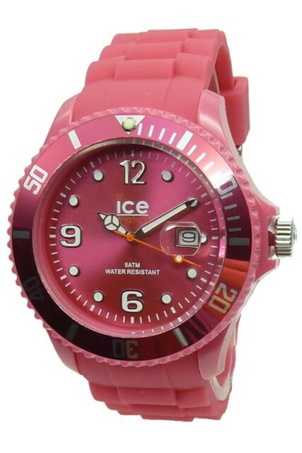 Ice Watch Montre Glace-Hiver Miel Rose Grand SW.HP.B.S.11 Dame en Silicone Neuf