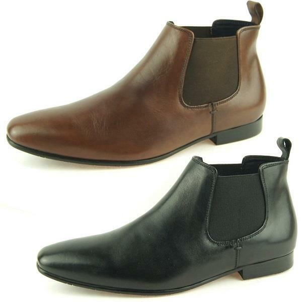 Drover Australia  Woodford  Chelsea, Men's Pull-on Leather Boots, Size 8-16US