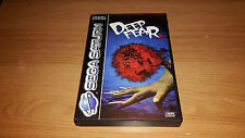 Deep Fear - Sega Saturn Game - PAL - Boxed with Instructions - Rare Horror