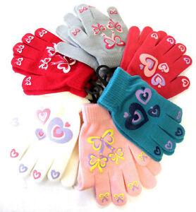 n-ud-FILLES-amp-imprime-c-ur-gants-magiques-avec-poignee-une-taille-6-couleurs