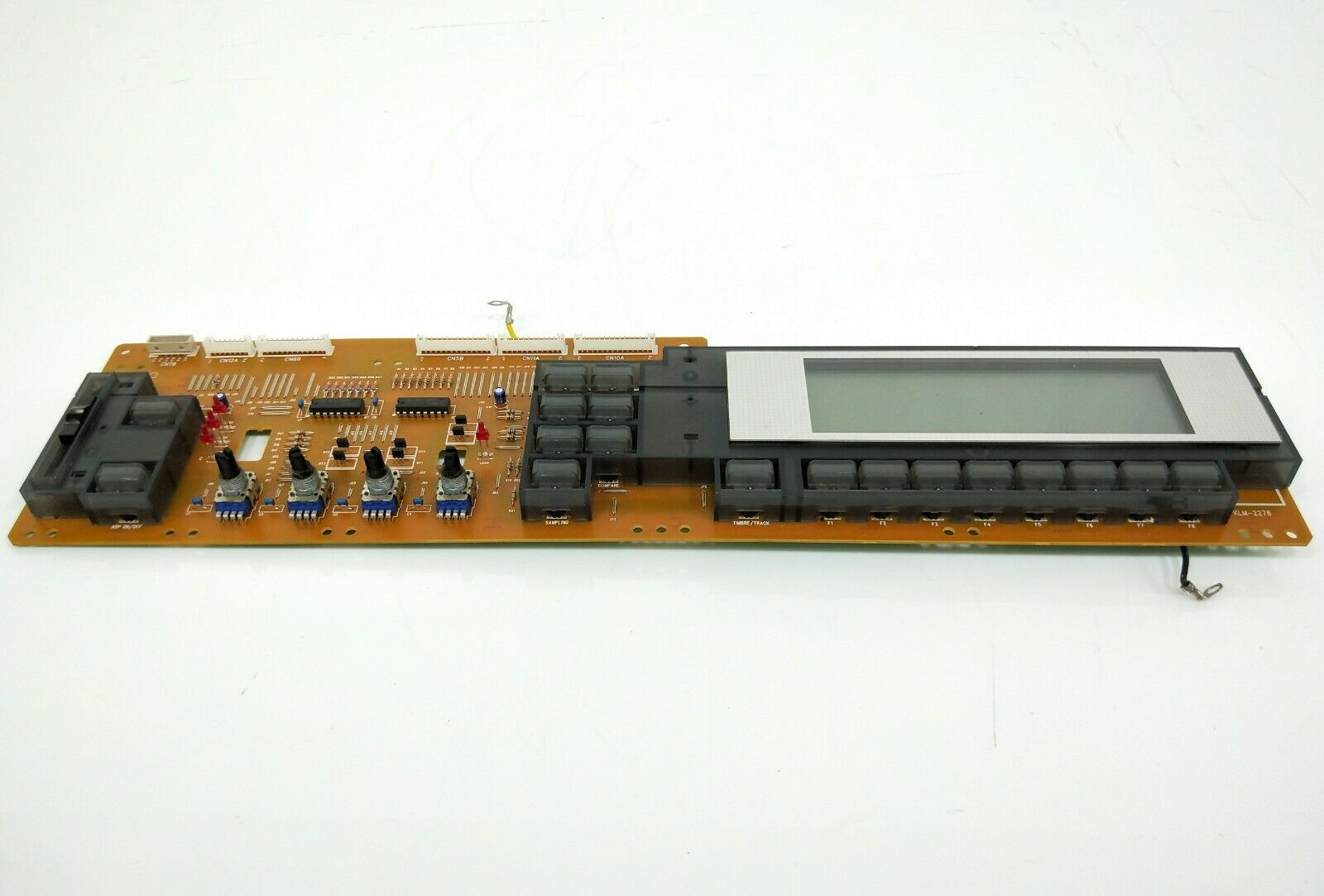 Korg Triton TR Synthestorlekr Right Side Panel KLM-2278 With LCD Display