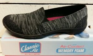 Black Charcoal Slip On Pump   eBay