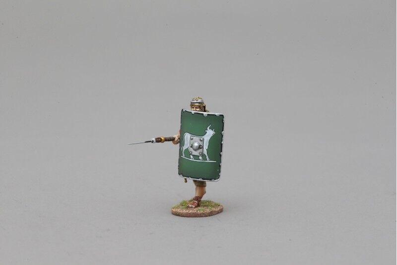THOMAS GUNN ROM001E - Advancing Legionnaire (6th Legion) Painted Metal Figure