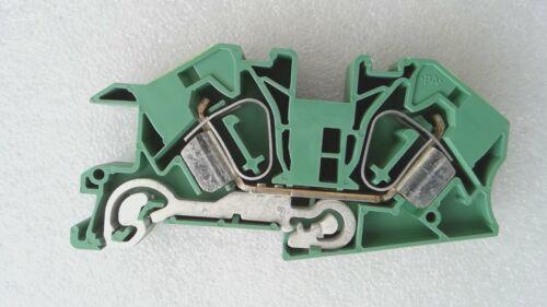1 X de instalación etagenklemme-sti 16-pe verde-amarillo-zugfederanschluss