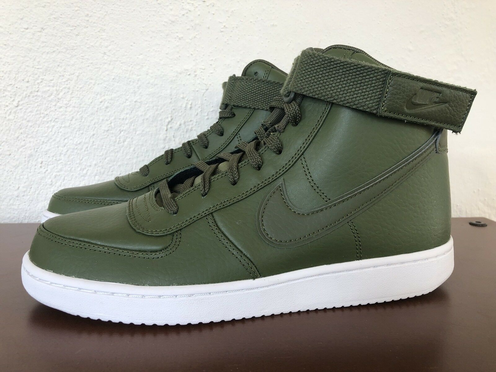 Nike Vandal High Green Supreme LTR Leather Legion Green High Olive Army AH8518 300 size 9 829994