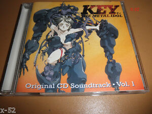 KEY the METAL IDOL anime CD soundtrack RARE VIZ music OST