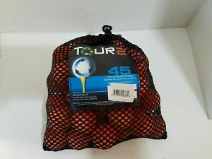 Shag-Bag-Practice-Golf-Balls-AAA-Orange-Mix-Brand-Nitro-Top-Flight-Tommy-Armour