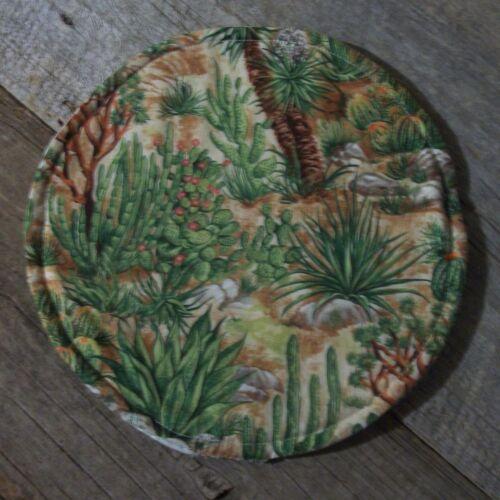 "Cactus Prickly Pear Yucca 10/"" Tortilla Pita Naan Flatbread Microwave Warmer"