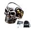 Anello-Teschio-Skull-Uomo-Acciaio-Donna-Argento-Oro-Incisioni-Personalizzate miniatura 1