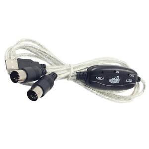 MIDI-a-Interfaccia-USB-Cavo-Corda-Convertitore-PC-a-Musica-Tastiera-Adattatore