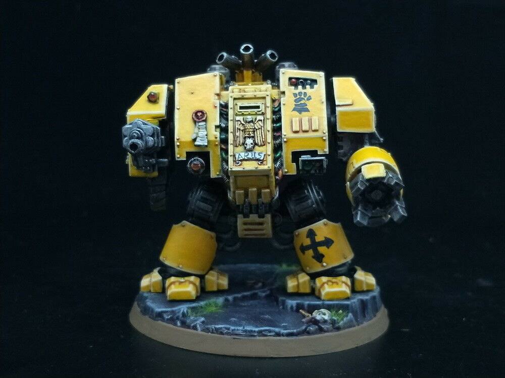25 mm Warhammer 40K DPS Painted Space Marine Dreadnought AP2925