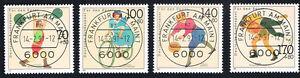GERMANIA-4-FRANCOBOLLI-PRO-SPORT-1991-timbrato