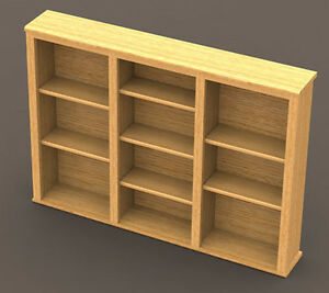 Cd Dvd Shelf Woodworking Paper Plans Building Plans Only Not