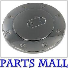 2007-2014 Toyota Tundra Triple Black Chrome Mirror Finish Fuel Gas Door Cover