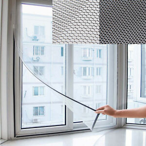 White-Window-Screen-Mesh-Insect-Net-Fly-Mosquito-Bug-Protection-Door-Netting-CN