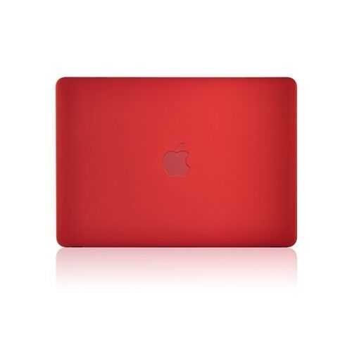 """RED Rubberized Hard Case for New Macbook 12/"""" with Retina Display Model A1534"""