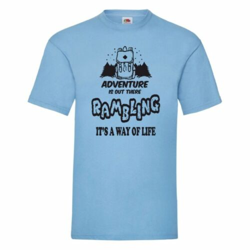 Rambling It/'s A Way Of Life T Shirt Small-5XL 12 Colours To Choose From
