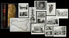 1824 Memoir... of the resources, inhabitants & Hydrography of Sicily Evanghelos 15 PL