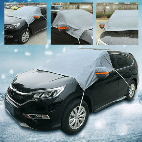 Car Front Windscreen Windshield Cover Ice Snow Shield Window Mirror Protector