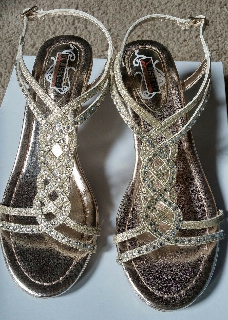Kenneth Cole Unlisted Kind champagne Gal shoes sandals 6M champagne Kind 2