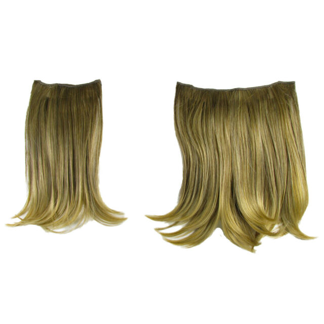 Jessica Simpson Hairdo Braided Chignon Clip In On Bun Hair Dark