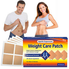 100% NATURAL LIKE HCG DIET DROPS FAT BURN LOWER APPETITE 30 PATCHES