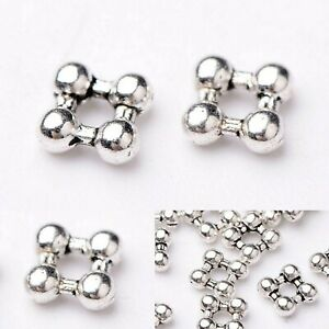 600 PCS 5MM BALI DAISY SPACER STERLING SILVER PLATED