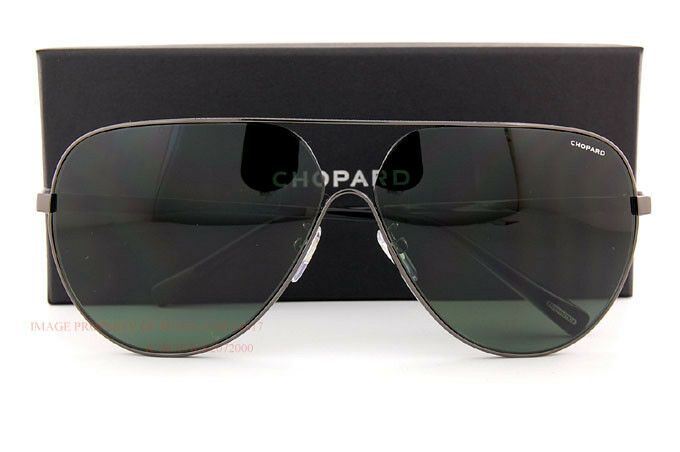 28374016c2 Buy Chopard Sunglasses Sch C30 568z Gunmetal green for Men Women ...