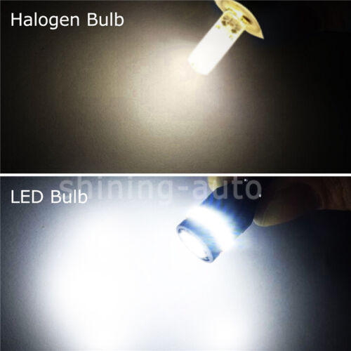 10pc Canbus T10 194 168 W5W SMD LED Interior Dome License Plate Light Bulb 6000K