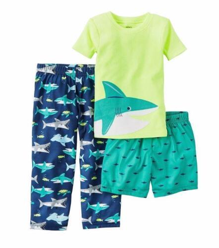 CARTER/'S® Boys/' 12 Shark 3-Piece Pajama Set NWT