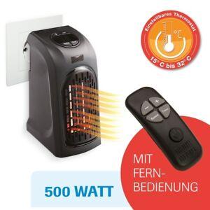 livington handy heater mit fernbedienung 500 watt heizen aus steckdose mediashop 9010041006689. Black Bedroom Furniture Sets. Home Design Ideas