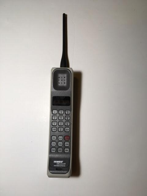 Motorola 8000m Brick Cell Phone Vintage Hand Held Mobile F09NFD8406AG
