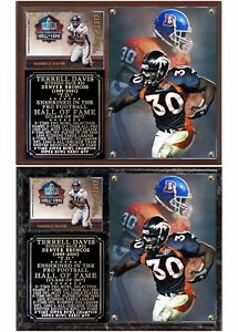 online store a9492 6a1a2 Terrell Davis 2017 Pro Football Hall of Fame Photo Card ...