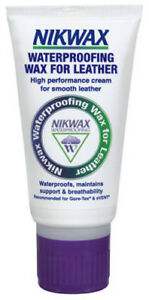 Nikwax WATERPROOFING WAX FOR LEATHER cream treatment for boots and shoes 100ml