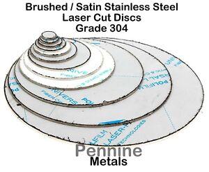 Stainless Steel Blank Round Discs 304 Grade Sheet Metal