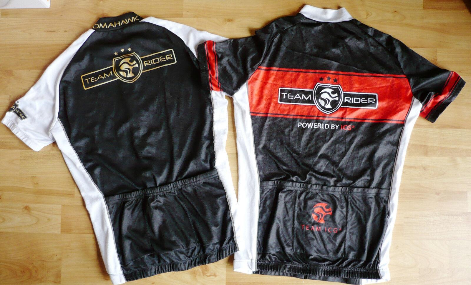 Zwei Radtrikots Neuwertige ICG TOMAHAWK Team Rider Radtrikots Zwei Größe M bdd218