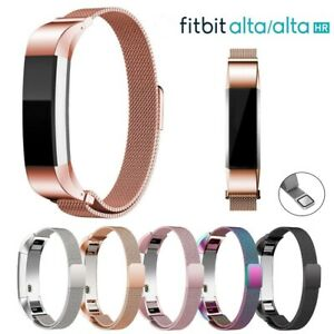 For-Fitbit-Alta-Alta-HR-Magnetic-Milanese-Stainless-Steel-Watch-Band-Strap